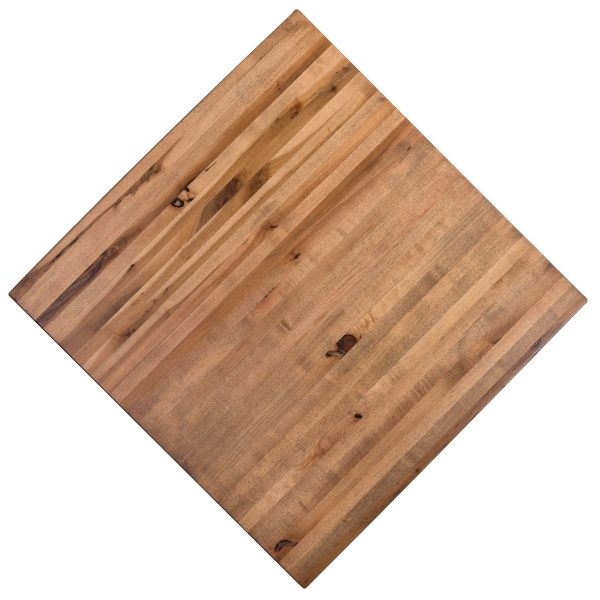 All Maple-Butcher-Block restaurant tabletops--Toffee Color. Available as Very large restaurant tables, any shape any size!