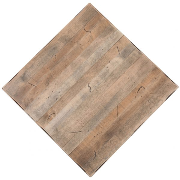 Distressed maple wood restaurant tables. Hand textured. Styles to fit every budget and no restaurant is too big!