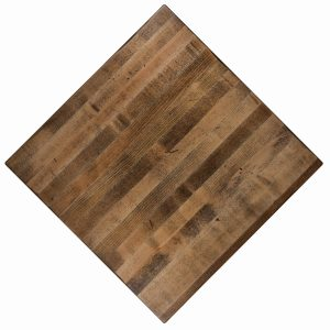 Solid distressed Maple Wood Restaurant table tops, Available in any shape or size. For commercial use.