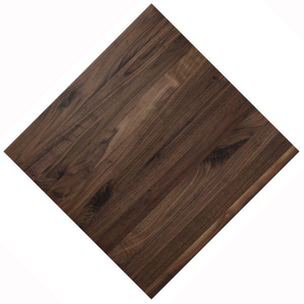 Solid Walnut wood custom restaurant tabletops